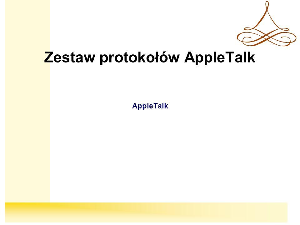 Zestaw protokołów AppleTalk