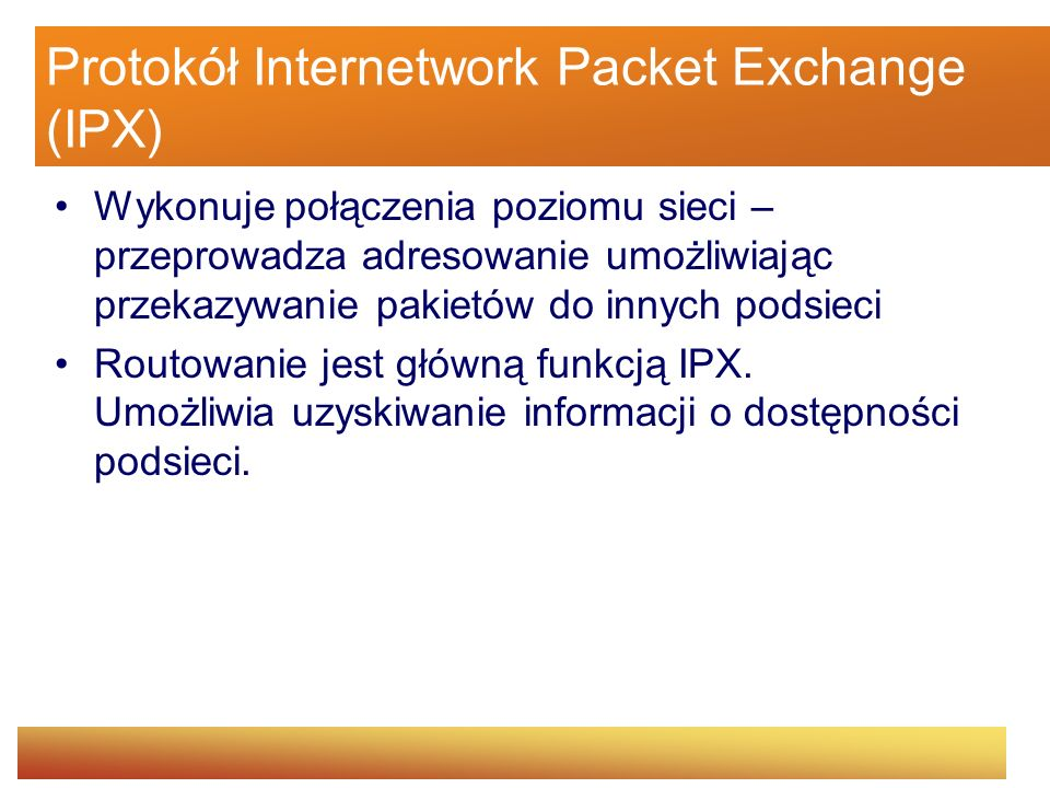 Protokół Internetwork Packet Exchange (IPX)