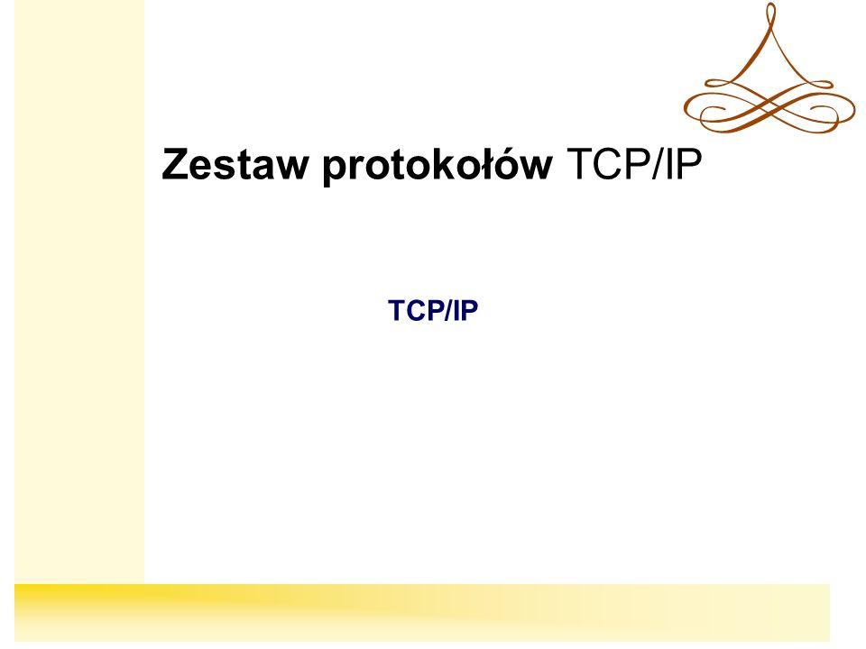 Zestaw protokołów TCP/IP