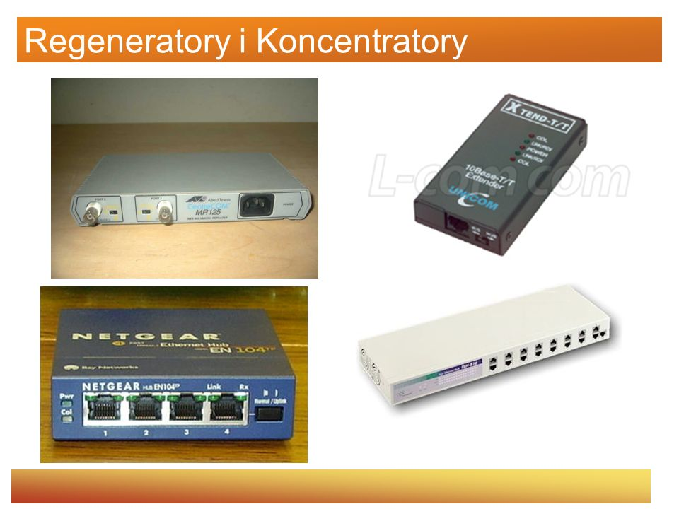 Regeneratory i Koncentratory