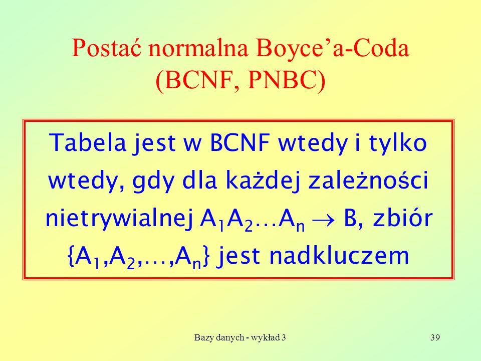 Postać normalna Boyce'a-Coda (BCNF, PNBC)