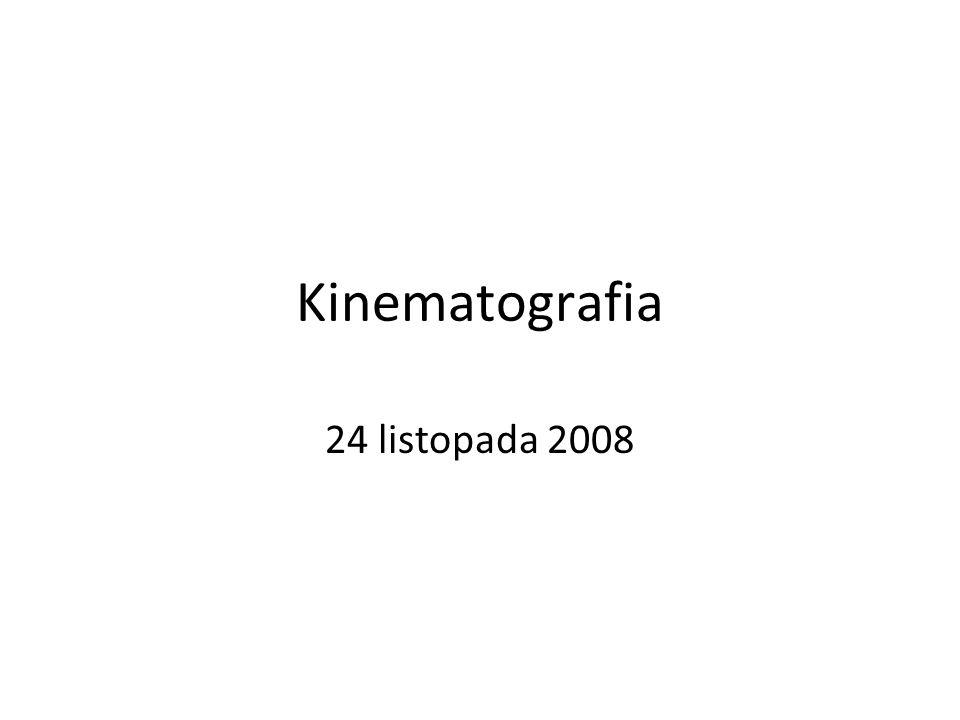 Kinematografia 24 listopada 2008