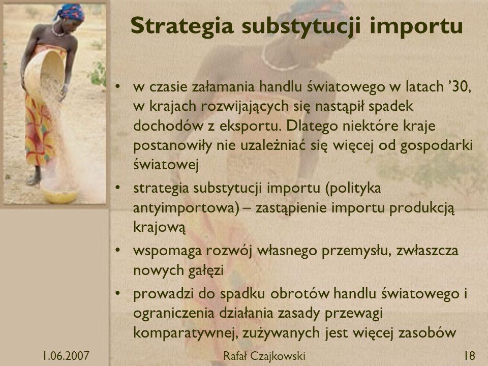 Strategia substytucji importu