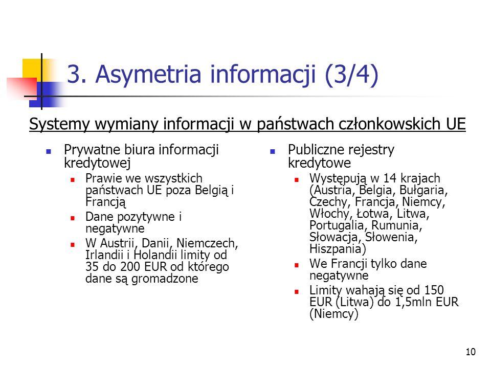 3. Asymetria informacji (3/4)