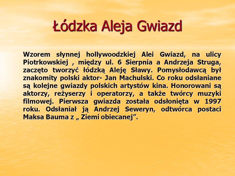 Łódzka Aleja Gwiazd