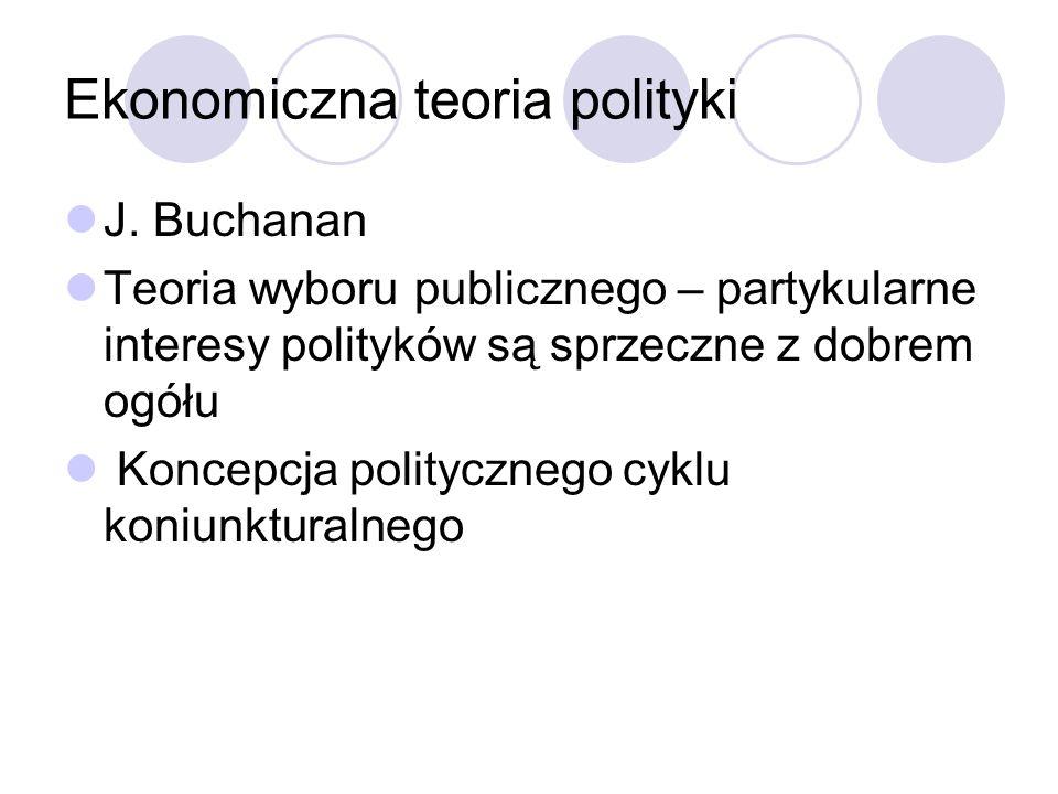 Ekonomiczna teoria polityki
