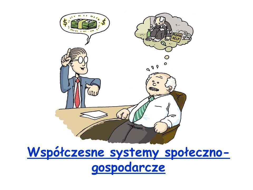 Współczesne systemy społeczno-gospodarcze