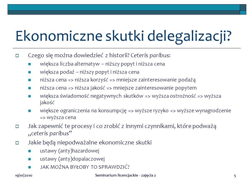 Ekonomiczne skutki delegalizacji