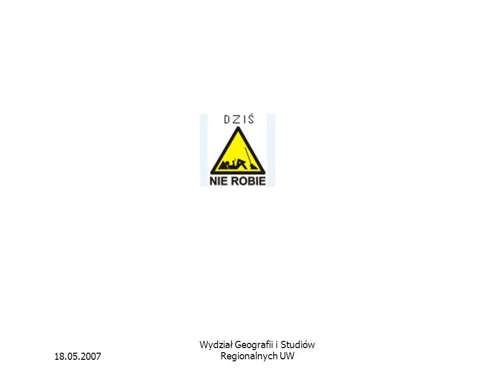 Wydział Geografii i Studiów Regionalnych UW