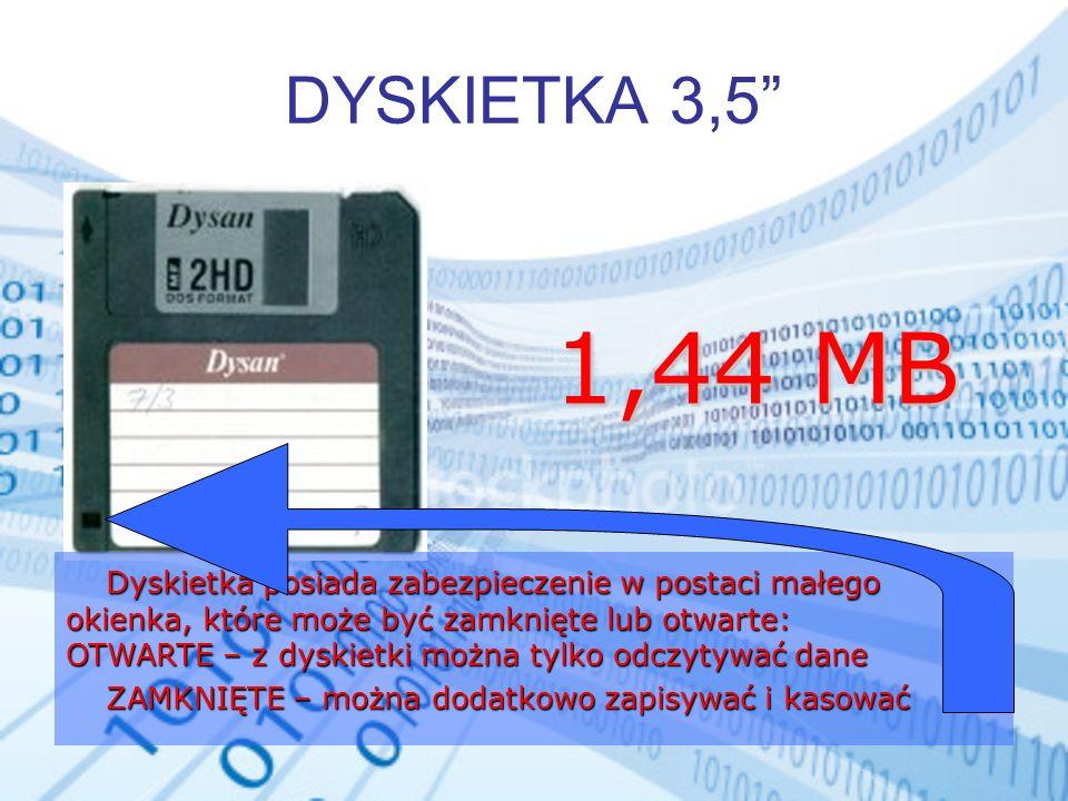 DYSKIETKA 3,5 1,44 MB.
