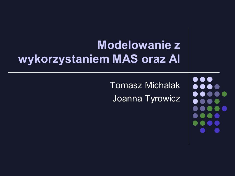 Modelowanie z wykorzystaniem MAS oraz AI