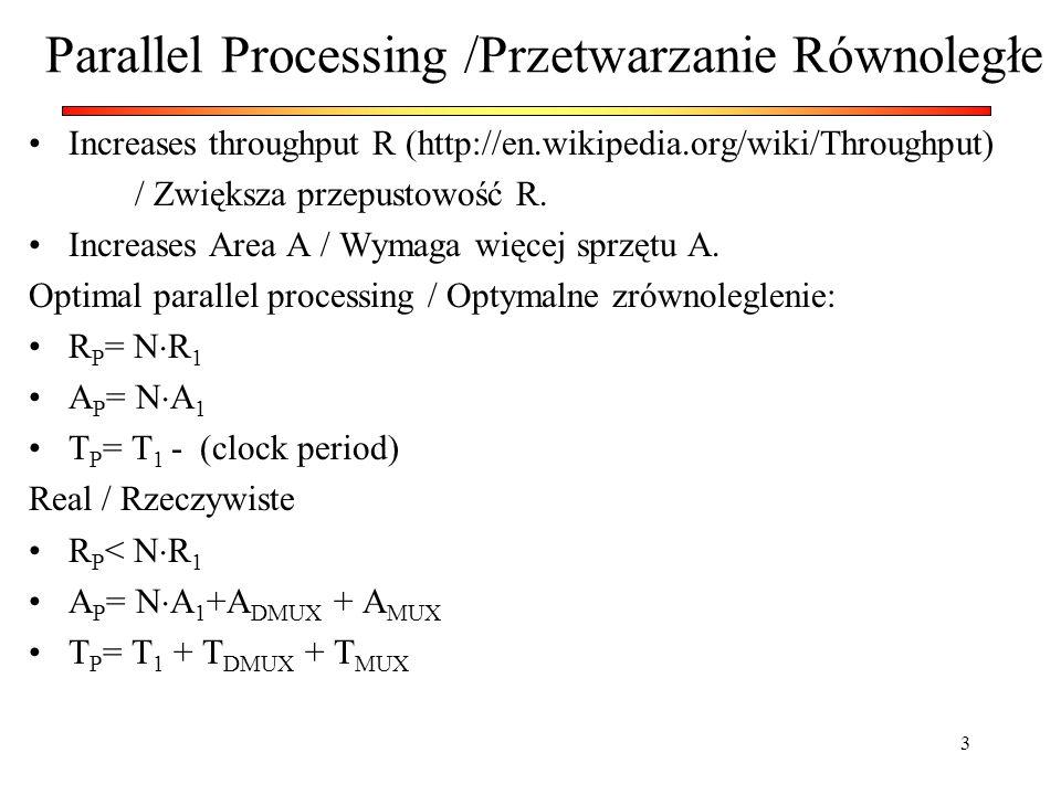 Parallel Processing /Przetwarzanie Równoległe