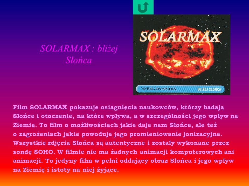 SOLARMAX : bliżej Słońca