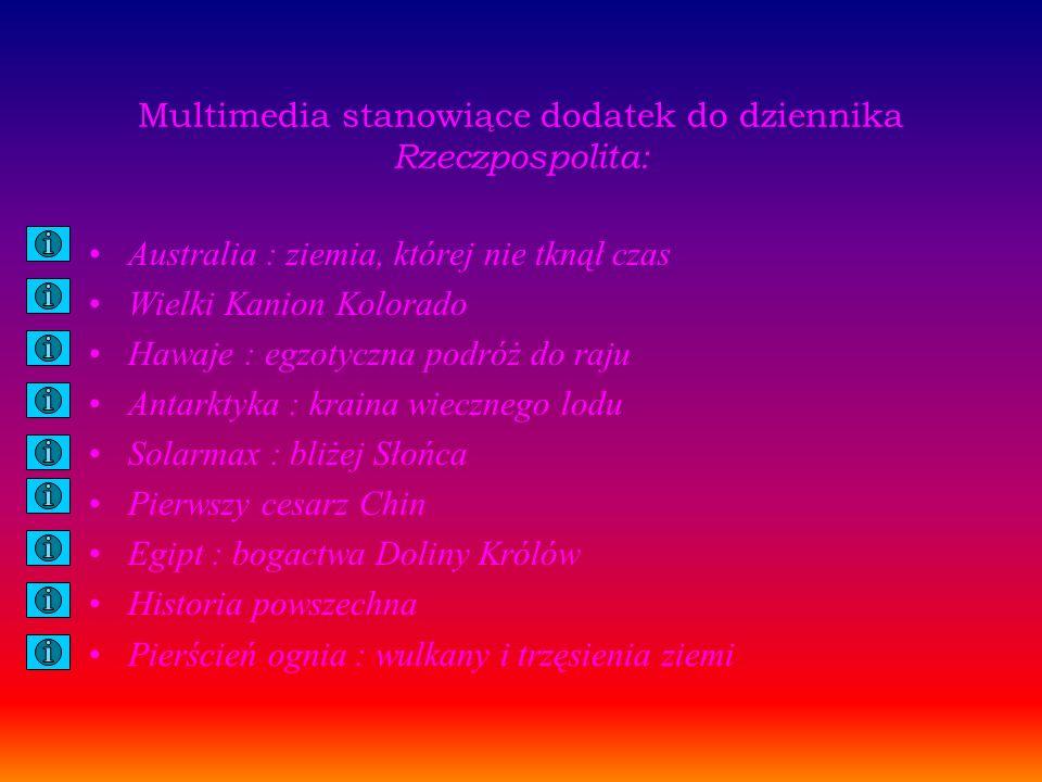 Multimedia stanowiące dodatek do dziennika Rzeczpospolita: