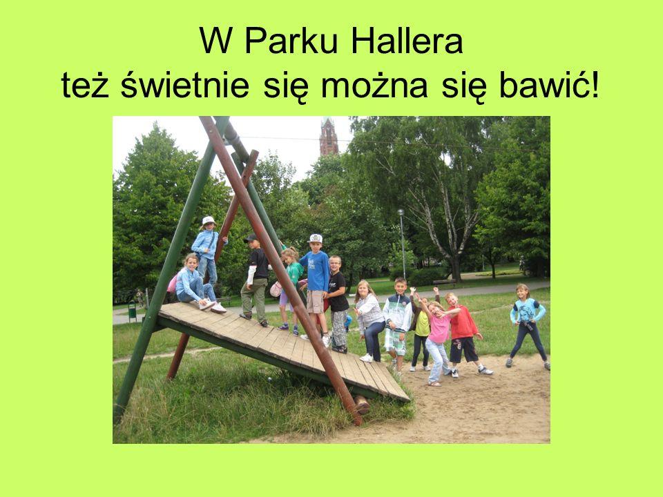 W Parku Hallera też świetnie się można się bawić!
