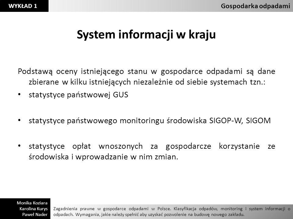 System informacji w kraju