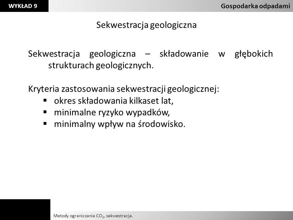 Sekwestracja geologiczna