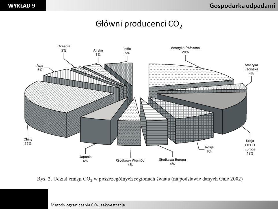 Główni producenci CO2 Gospodarka odpadami Agnieszka Kelman