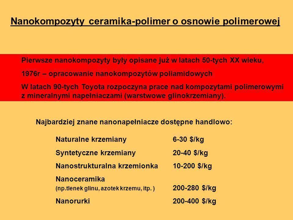 Nanokompozyty ceramika-polimer o osnowie polimerowej