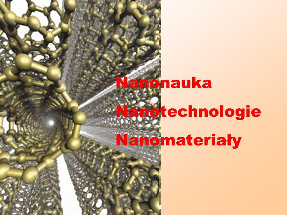 Nanonauka Nanotechnologie Nanomateriały