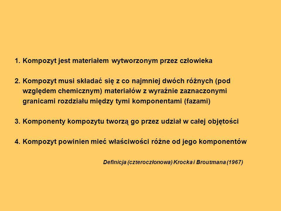 Definicja (czteroczłonowa) Krocka i Broutmana (1967)