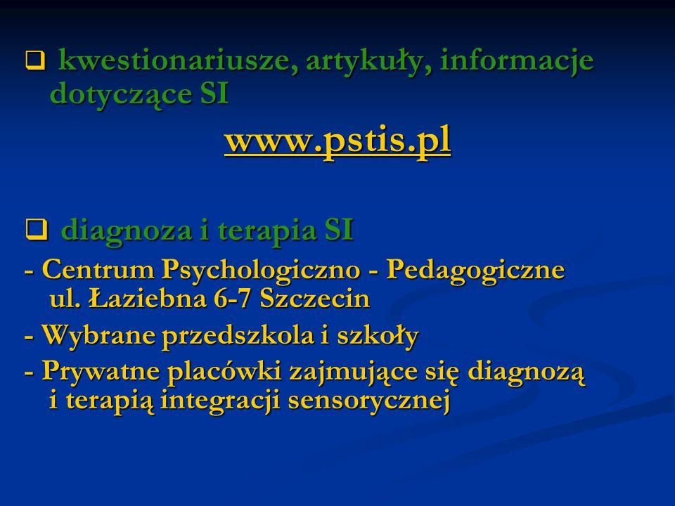 www.pstis.pl diagnoza i terapia SI