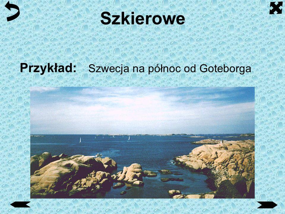 Szkierowe Przykład: Szwecja na północ od Goteborga