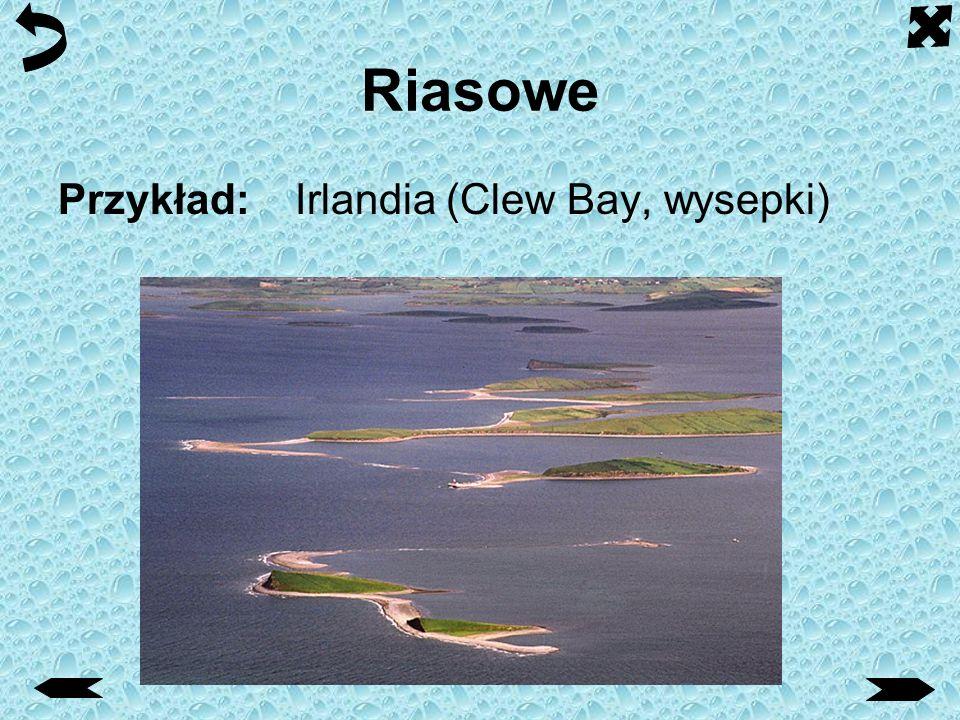 Riasowe Przykład: Irlandia (Clew Bay, wysepki)