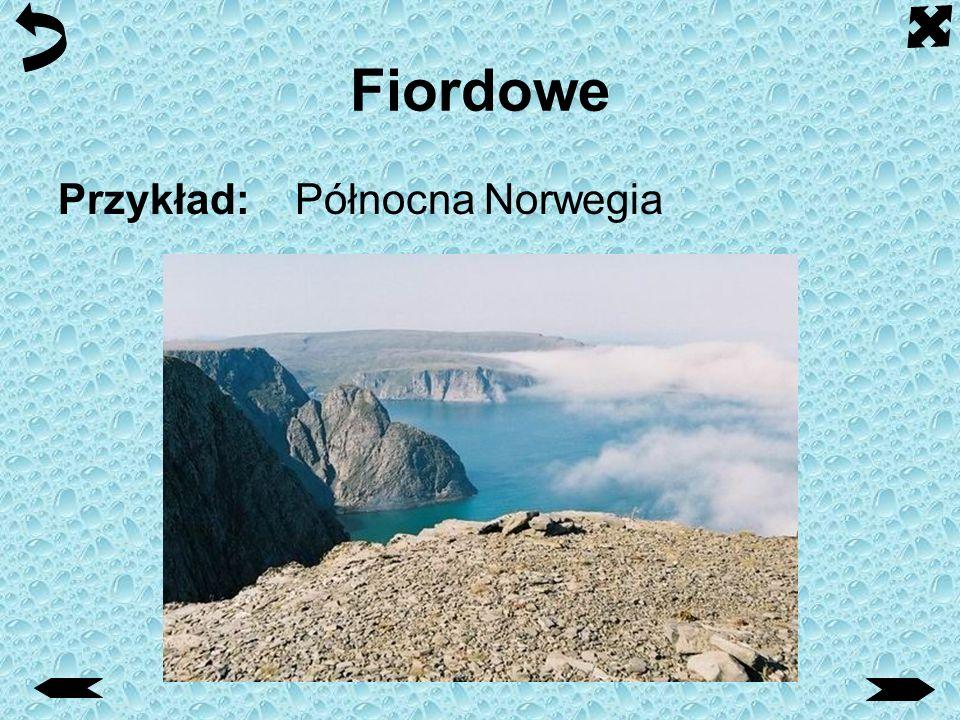 Fiordowe Przykład: Północna Norwegia
