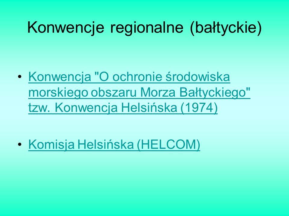 Konwencje regionalne (bałtyckie)