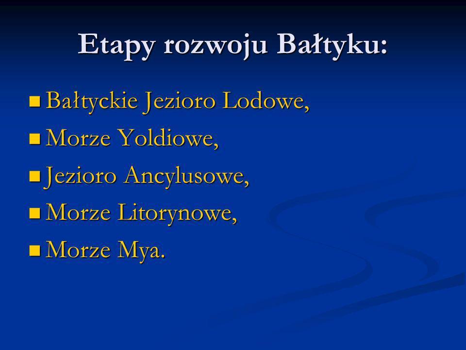 Etapy rozwoju Bałtyku: