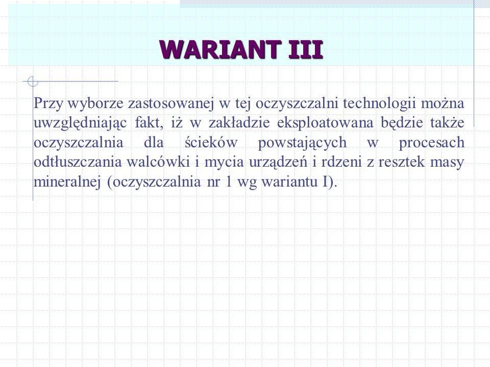 WARIANT III