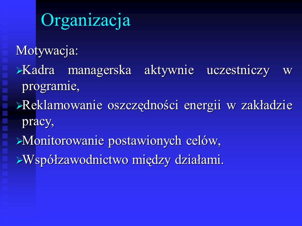 Organizacja Motywacja: