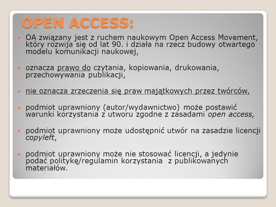 OPEN ACCESS: