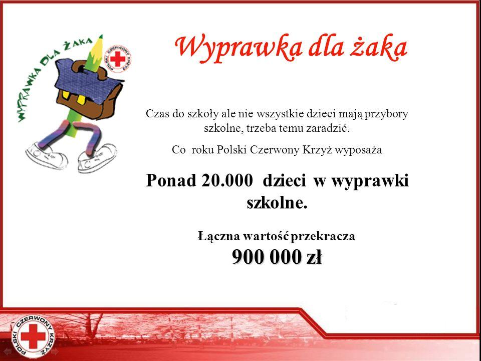 Wyprawka dla żaka Ponad 20.000 dzieci w wyprawki szkolne.