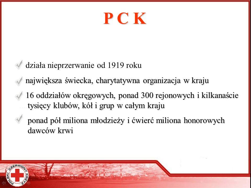 P C K działa nieprzerwanie od 1919 roku