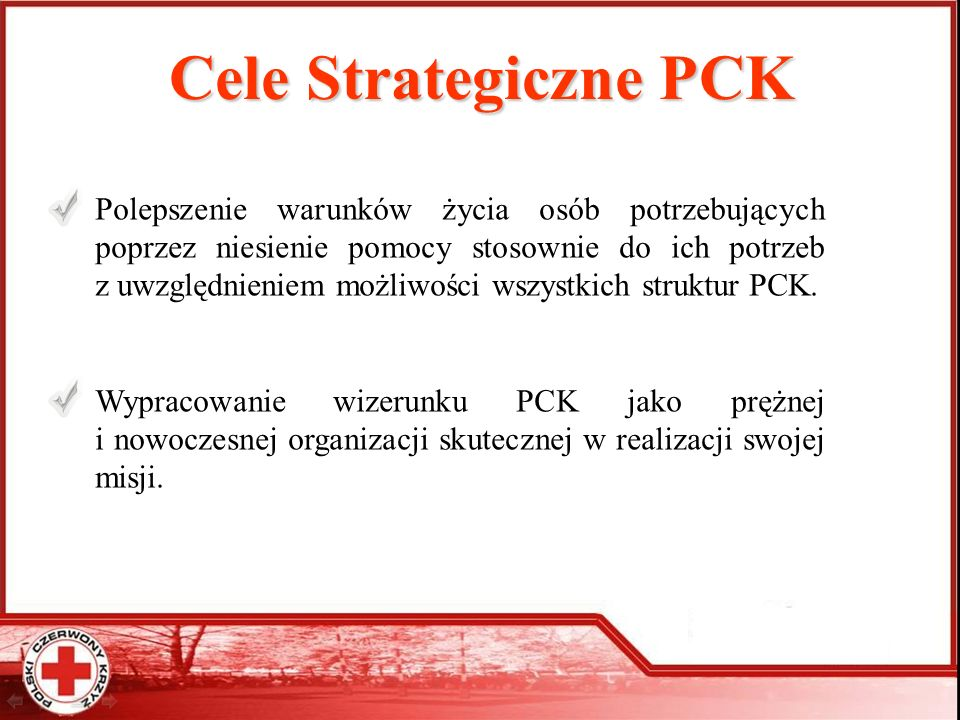 Cele Strategiczne PCK