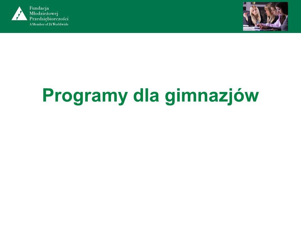 Programy dla gimnazjów
