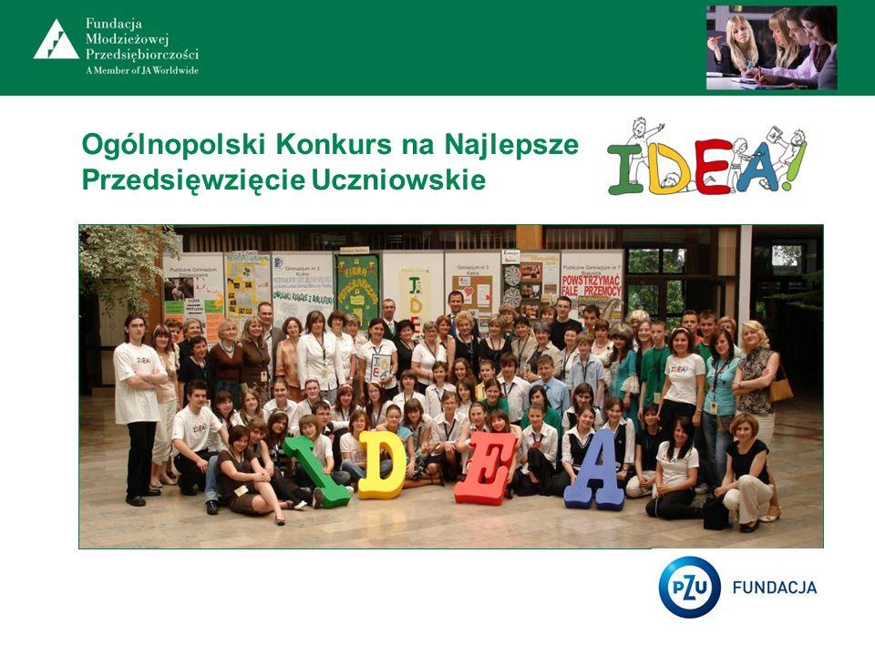 Ogólnopolski Konkurs na Najlepsze Przedsięwzięcie Uczniowskie