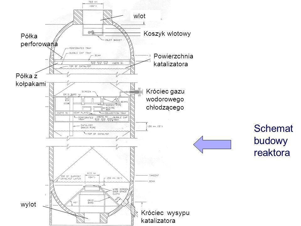 Schemat budowy reaktora