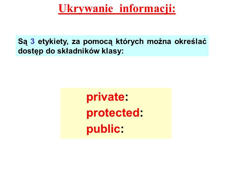 Ukrywanie informacji: