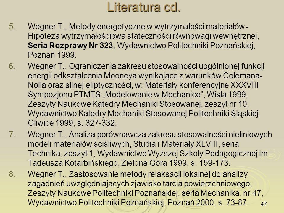 Literatura cd.