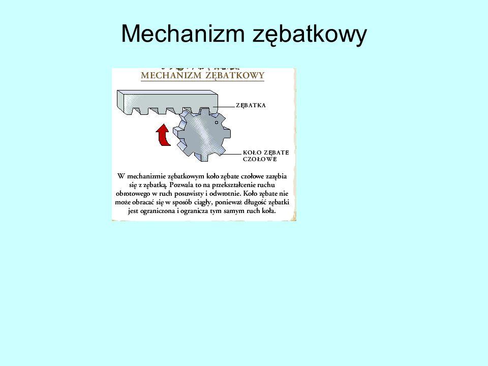 Mechanizm zębatkowy