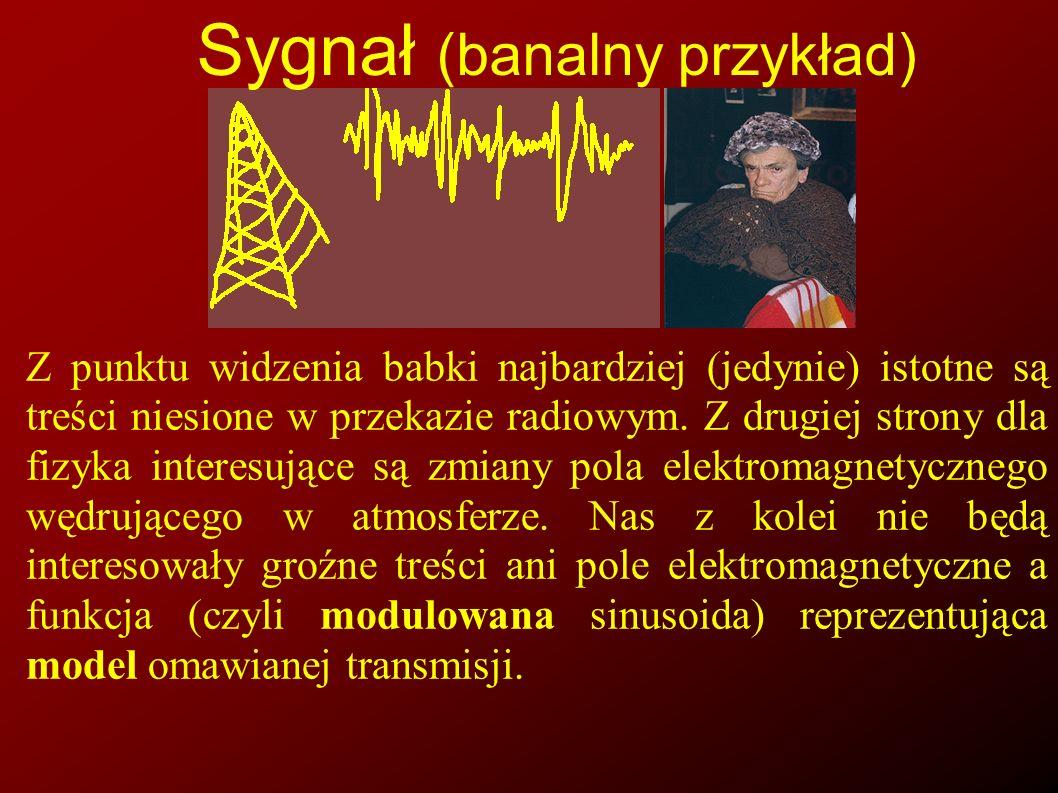 Sygnał (banalny przykład)