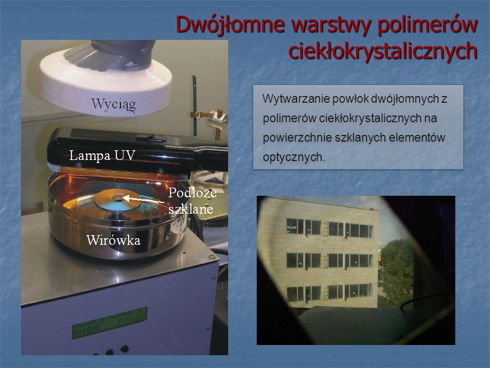 Dwójłomne warstwy polimerów ciekłokrystalicznych