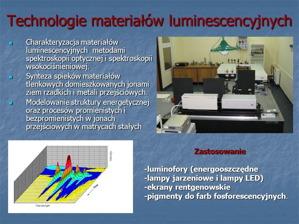 Technologie materiałów luminescencyjnych
