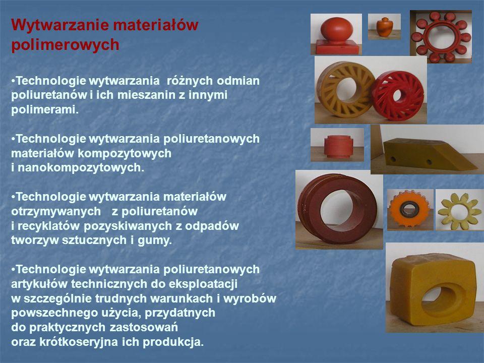 Wytwarzanie materiałów polimerowych