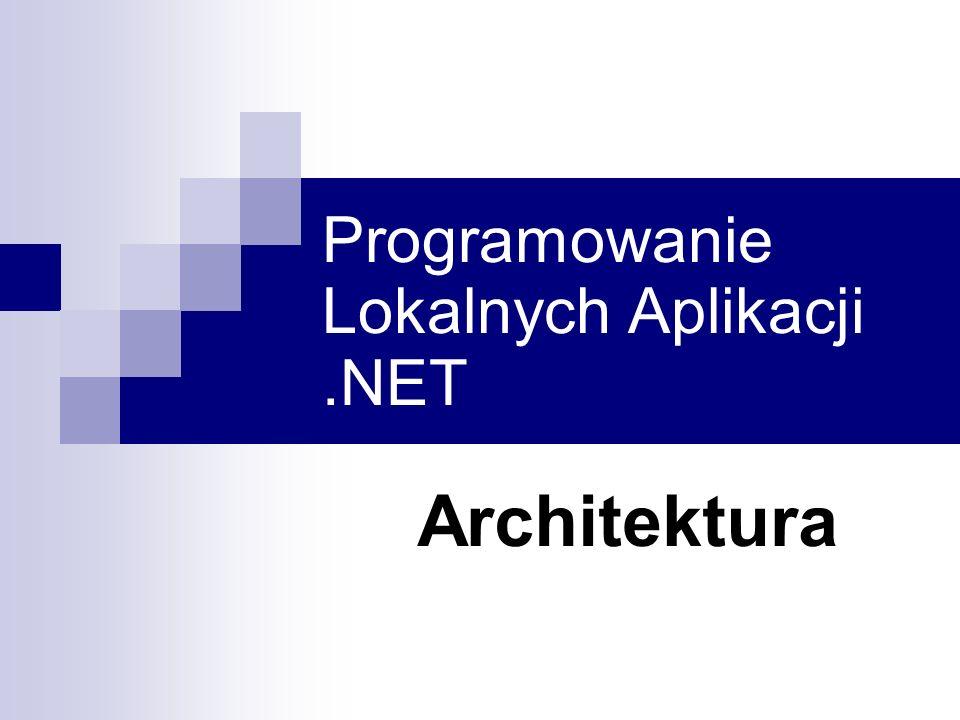 Programowanie Lokalnych Aplikacji .NET