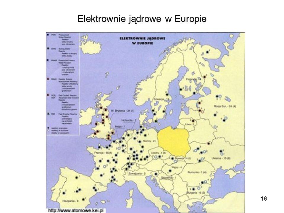 Elektrownie jądrowe w Europie