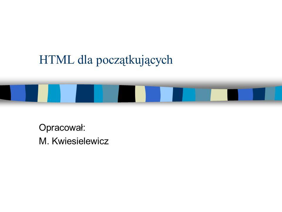 HTML dla początkujących